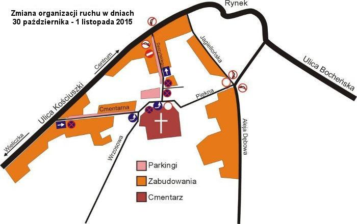 Mapka 1 listopada